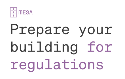 prepare your building for regulations