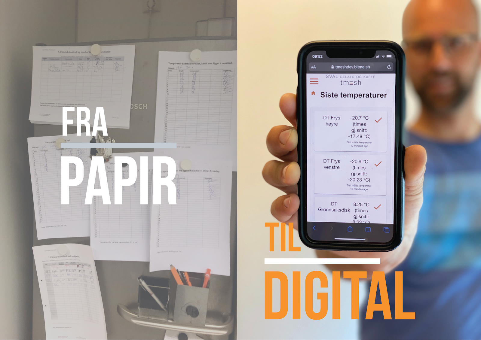 from paper to digital with disruptive technologies