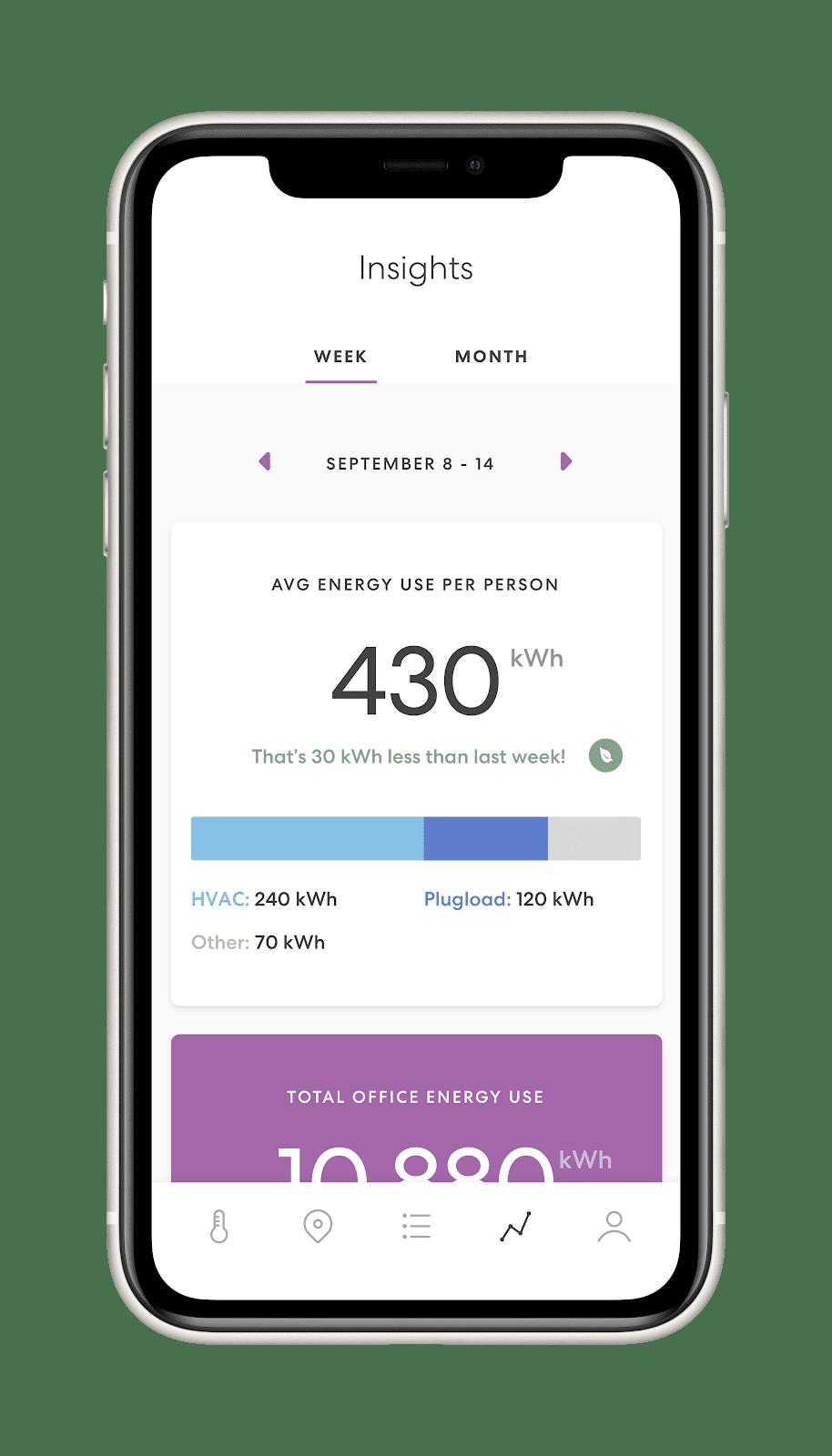 mesa user interface